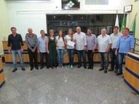 Atletas cambeenses da seleção brasileira de ginástica rítmica recebem Diplomas de Reconhecimento Público