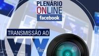 Câmara faz transmissões ao vivo pelo Facebook