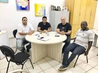 Câmara recebe visita do Vereador Renan Pontes (PHS) de Porecatu.