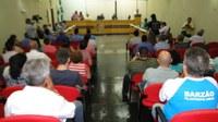 Comunidade atenta aos trabalhos dos vereadores