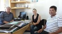 Coordenadora do SESI visita Câmara