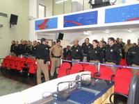 Efetivo da Polícia Militar se reúne na Câmara