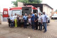 Entrega de ambulância do SAMU
