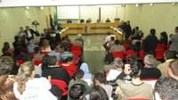 Manifestação na Câmara pede redução na tarifa do transporte coletivo