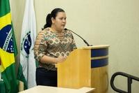Presidente da Associação de moradores do Caramuru e região fez uso da Tribuna Livre.