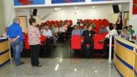 Presidente promove reunião com vereadores e servidores da Câmara