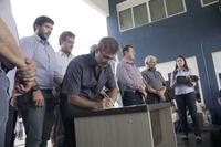 Vereadores participam da solenidade de inauguração da nova sede da Ciretran de Cambé