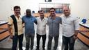 Vereadores recebem visita do presidente da Câmara de Sertanópolis.
