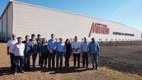 Vereadores visitam Centro de Distribuição do Grupo Muffato.